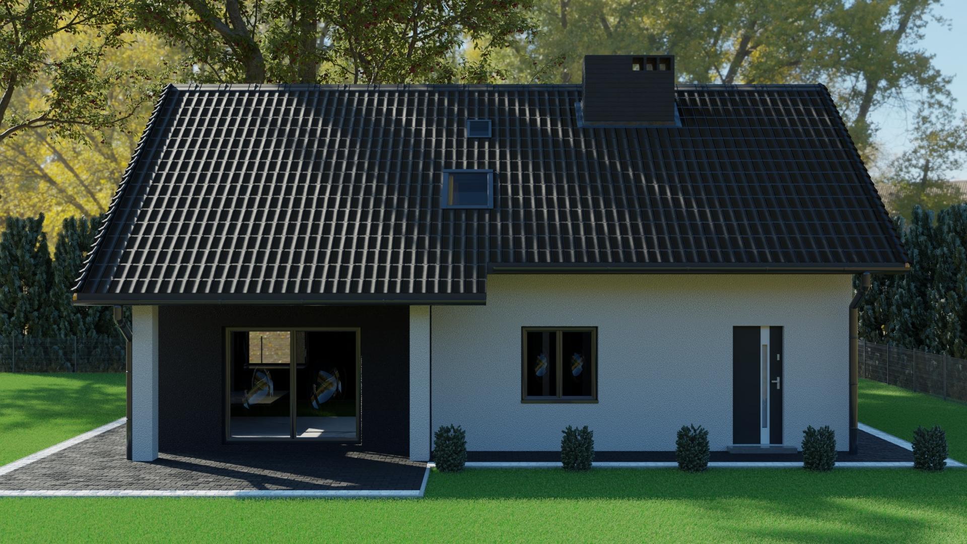 wizualizacja architektoniczna domu
